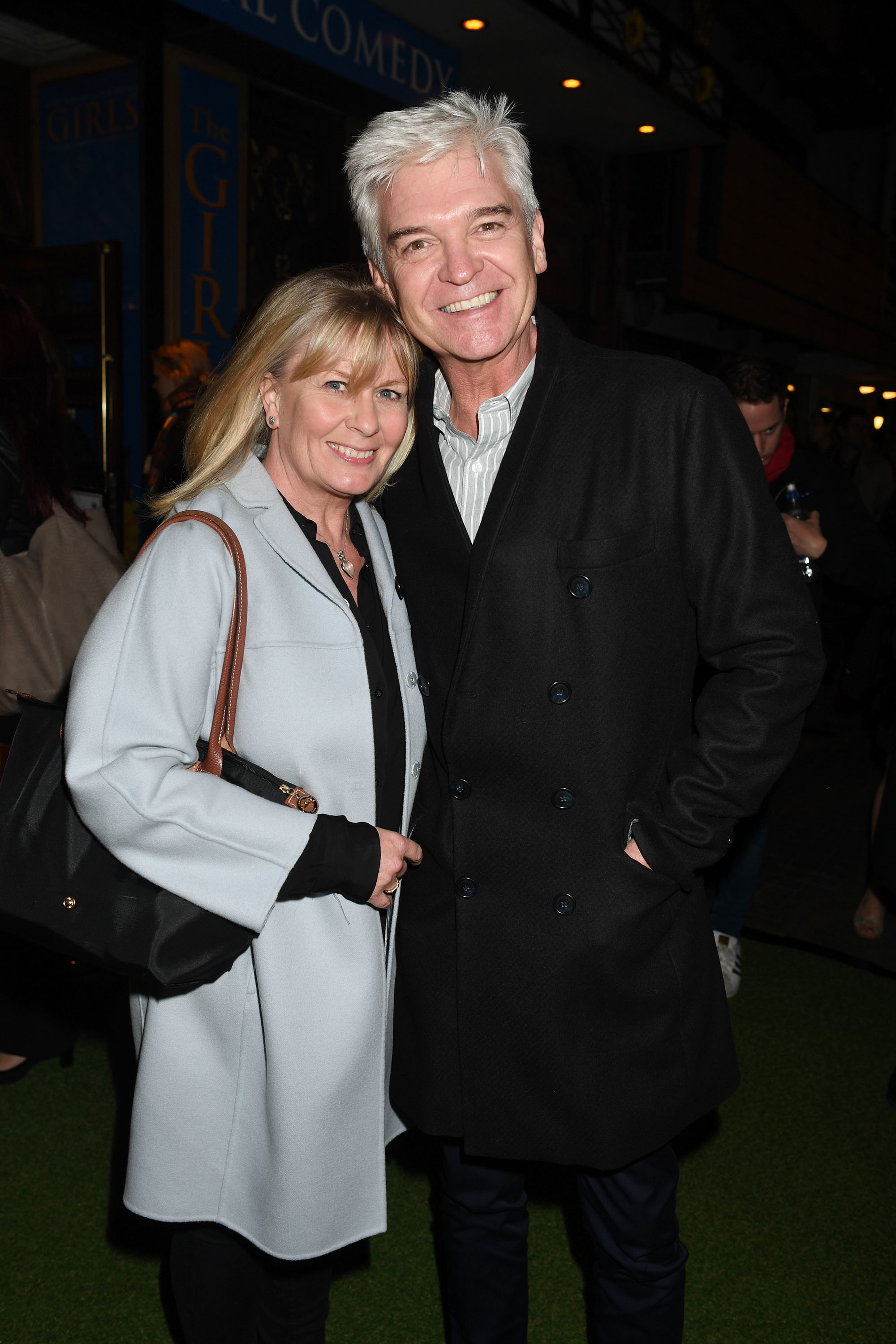 Phillip Schofield With His Wife Stephanie Lowe