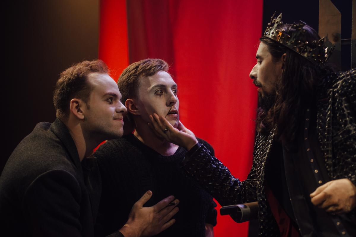 20-Liam Murray Scott as Catesby, Alex Stevens as Tyrell and Kim Hardy as Richard