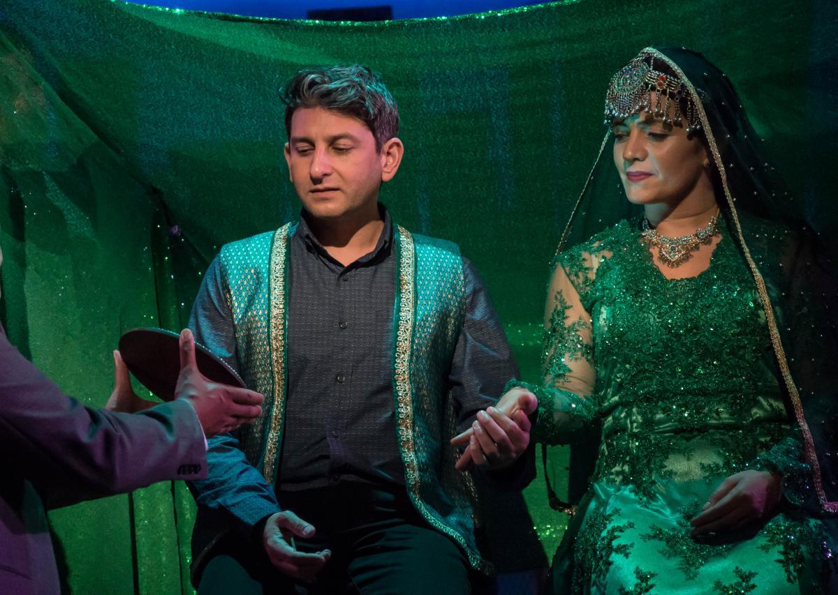 Amir and soraya wedding