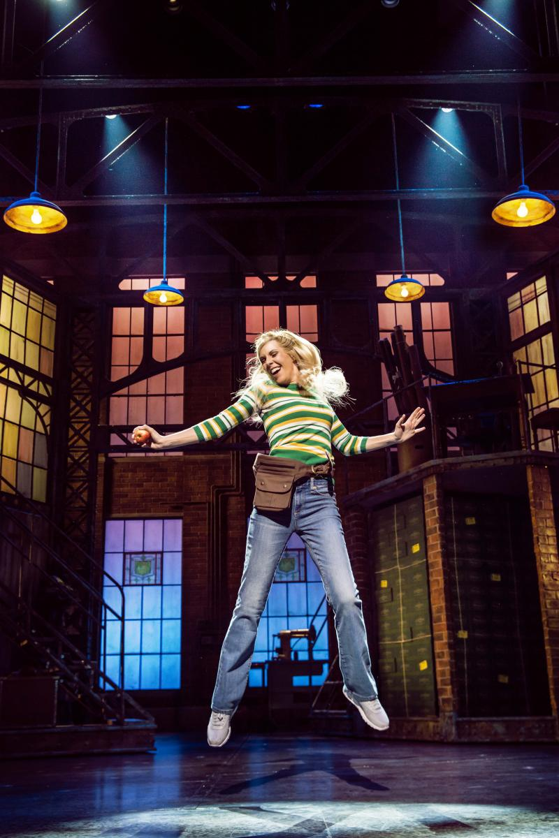 Verity Rushworth as Lauren in Kinky Boots at the Adelphi Theatre, photo by Matt Crockett
