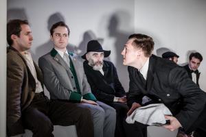 Gethin Alderman, Edward Killingback, Jeremy Gagan and James Boyd
